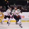 24.03.2014 - Tychy , Stadion Zimowy , hokej , Polska Hokej Liga , GKS Tychy (biale) Ciarko PBS Bank KH Sanok (czarne)  N/Z Radoslaw Galant Fot. Karol Bartnik / MPAimages.com