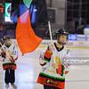 24.03.2014 - Tychy , Stadion Zimowy , hokej , Polska Hokej Liga , GKS Tychy (biale) Ciarko PBS Bank KH Sanok (czarne)  N/Z Mlodzi hokeisci GKSu Fot. Karol Bartnik / MPAimages.com