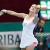 08.04.2014 - Katowice , Spodek ,  BNP Paribas Katowice Open , Agnieszka Radwanska (POL) - Kristina Pliskova (CZE)  N/Z Agnieszka Radwanska  Fot. Mariusz Palczynski / MPAimages.com