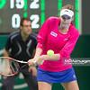 08.04.2014 - Katowice , Spodek ,  BNP Paribas Katowice Open , Agnieszka Radwanska (POL) - Kristina Pliskova (CZE)  N/Z Kristina Pliskova  Fot. Mariusz Palczynski / MPAimages.com