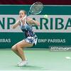 08.04.2014 - Katowice , Spodek ,  BNP Paribas Katowice Open , Magda Linette (POL) - Klara Koukalova (CZE)  N/Z Magda Linette  Fot. Mariusz Palczynski / MPAimages.com