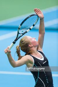 08.04.2014 - Katowice , Spodek ,  BNP Paribas Katowice Open , Magdalena Frech (POL) - Yvonne Meusburger (AUT)  N/Z Magdalena Frech  Fot. Mariusz Palczynski / MPAimages.com