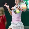 08.04.2014 - Katowice , Spodek ,  BNP Paribas Katowice Open , Misaki Doi (JPN) - Silvia Soler - Espinosa (ESP)  N/Z Misaki Doi  Fot. Mariusz Palczynski / MPAimages.com