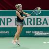 09.04.2014 - Katowice , Spodek ,  BNP Paribas Katowice Open , Annika Beck (GER) - Klara Koukalova (CZE)  N/Z Klara Koukalova  Fot. Mariusz Palczynski / MPAimages.com