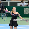11.04.2014 - Katowice , Spodek ,  BNP Paribas Katowice Open , Agnieszka Radwanska (POL) - Yvonne Meusburger (AUT)  N/Z Agnieszka Radwanska  Fot. Mariusz Palczynski / MPAimages.com