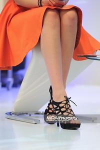 12.04.2014 , Czestochowa , Galeria Jurajska , casting do konkursu The Look Of The Year  N/Z Buty Marysi Stepien fot. Karol Bartnik / MPAimages.com
