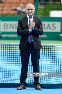 13.04.2014 - Katowice , Spodek ,  BNP Paribas Katowice Open , Dekoracja Debel  N/Z Frederic Amoudru  Fot. Mariusz Palczynski / MPAimages.com