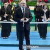 13.04.2014 - Katowice , Spodek ,  BNP Paribas Katowice Open , Dekoracja Singiel  N/Z Prezydent Miasta Piotr Uszok  Fot. Mariusz Palczynski / MPAimages.com