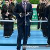 13.04.2014 - Katowice , Spodek ,  BNP Paribas Katowice Open , Dekoracja Singiel  N/Z Przedstawiciel Tag Heuer  Fot. Mariusz Palczynski / MPAimages.com