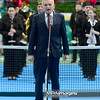 13.04.2014 - Katowice , Spodek ,  BNP Paribas Katowice Open , Dekoracja Singiel  N/Z Jerzy Buzek  Fot. Mariusz Palczynski / MPAimages.com