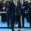 13.04.2014 - Katowice , Spodek ,  BNP Paribas Katowice Open , Dekoracja Singiel  N/Z Dyrektor Turnieju Pawel Owczarz  Fot. Mariusz Palczynski / MPAimages.com