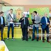 18.04.2014 - Belchatow , Galeria Olimpia , siatkarze PGE Skra Belchatow maluja pisanki  N/Z Mariusz Wlazly  Fot. Mariusz Palczynski / MPAimages.com