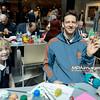 18.04.2014 - Belchatow , Galeria Olimpia , siatkarze PGE Skra Belchatow maluja pisanki  N/Z Stephane Antiga  Fot. Mariusz Palczynski / MPAimages.com