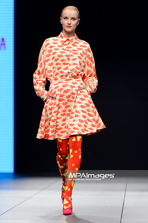 06.05.2014 - Lodz , Fashionphilosophy Fashion Week Poland 2014 , 10 edycja , Gala otwarcia  N/Z Pokaz Agatha Ruiz De La Prada  Fot. Mariusz Palczynski / MPAimages.com