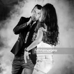 2014.07.26 - Ryjewo , 5 Festiwal Disco Bandzo Ryjewo 2014 Koncert Damiana Banasiaka  N/Z Damian Banasiak , Izabella Banasiak   Fot. Mariusz Palczynski / MPAimages.com