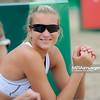 20.08.2014 - Stare Jablonki , siatkowka plazowa , beach volleyball , World Tour , FIVB Stare Jablonki Grand Slam 2014 , Wlochy (niebieskie) - Polska (biale) , Italy (blue) - Poland (white) N/Z Dorota Strag Fot. Karol Bartnik / MPAimages.com