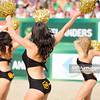 22.08.2014 - Stare Jablonki , siatkowka plazowa , beach volleyball , World Tour , FIVB Stare Jablonki Grand Slam 2014 , Brazylia () - Niemcy () , Brazil () - Germany () N/Z  Fot. Karol Bartnik / MPAimages.com