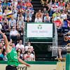 23.08.2014 - Stare Jablonki , siatkowka plazowa , beach volleyball , World Tour , FIVB Stare Jablonki Grand Slam 2014 , Polska (zielone) - Szwajcaria (zolte) , Poland (green) - Switzerland (yellow) N/Z Michal Kadziola Fot. Karol Bartnik / MPAimages.com