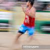 23.08.2014 - Stare Jablonki , siatkowka plazowa , beach volleyball , World Tour , FIVB Stare Jablonki Grand Slam 2014 , Polska (czerwone) - Lotwa (biale) , Poland - Latvia   N/Z Michal Kadziola  Fot. Mariusz Palczynski / MPAimages.com