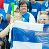 01.09.2014 - Katowice , Spodek , siatkowka , Mistrzostwa Swiata 2014 , grupa B Kuba (czerwone) - Finlandia (biale) , FIVB Men's World Championship , pool B Cuba (red) - Finland (white) N/Z Kibice Finlandii Fot. Karol Bartnik / MPAimages.com