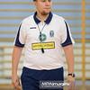 13.09.2014 - Jaworzno , MCKiS , siatkowka , mecz towarzyski , MCKiS Jaworzno (granatowe) - UKS PWSZ Tarnow (white) Fot. Karol Bartnik / MPAimages.com