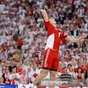 18.09.2014 - Lodz , Atlas Arena , siatkowka , Mistrzostwa Swiata 2014 , grupa H Polska (czerwone) - Rosja (biale) , FIVB Men's World Championship , pool H Poland (red) - Russia (white)   N/Z Piotr Nowakowski  Fot. Mariusz Palczynski / MPAimages.com
