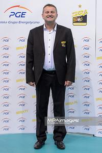 29.09.2014 - Belchatow , Hala Energia , siatkowka , PlusLiga , Sesja zdjeciowa PGE Skra Belchatow  N/Z Konrad Piechocki  Fot. Mariusz Palczynski / MPAimages.com