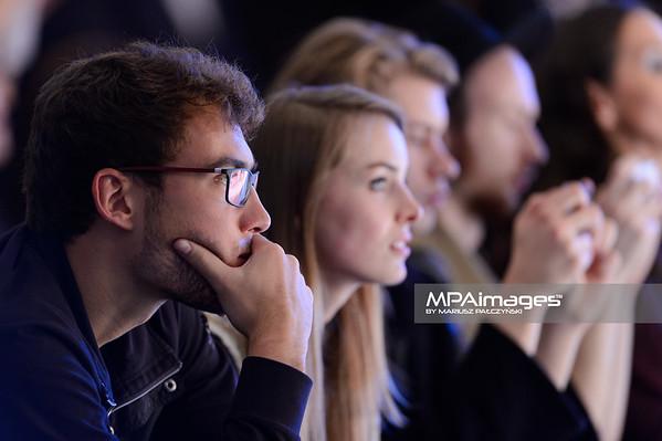 23.10.2014 - Lodz , EXPO , Fashionphilosophy Fashion Week Poland 2014 , 11 edycja , Aleja Projektantow , Designers Avenue  N/Z Claudia Danna , Jerzy Janowicz  Fot. Mariusz Palczynski / MPAimages.com