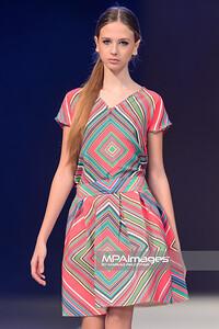 23.10.2014 - Lodz , EXPO , Fashionphilosophy Fashion Week Poland 2014 , 11 edycja , Aleja Projektantow , Designers Avenue  N/Z Katarzyna Lecka  Fot. Mariusz Palczynski / MPAimages.com