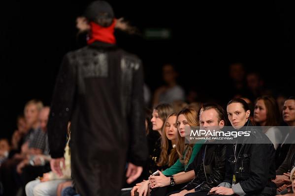 24.10.2014 - Lodz , EXPO , Fashionphilosophy Fashion Week Poland 2014 , 11 edycja , Aleja Projektantow , Designers Avenue  N/Z Odio i Jakub Pieczarkowski  Fot. Mariusz Palczynski / MPAimages.com