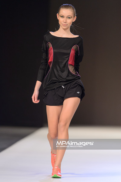 24.10.2014 - Lodz , EXPO , Fashionphilosophy Fashion Week Poland 2014 , 11 edycja , Aleja Projektantow , Designers Avenue  N/Z Ranita Sobanska for 4F  Fot. Mariusz Palczynski / MPAimages.com