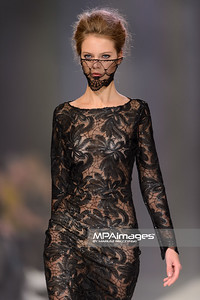 25.10.2014 - Lodz , EXPO , Fashionphilosophy Fashion Week Poland 2014 , 11 edycja , Aleja Projektantow , Designers Avenue  N/Z Aga Pou  Fot. Mariusz Palczynski / MPAimages.com