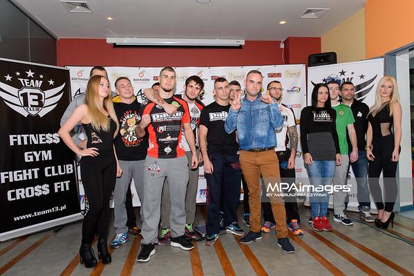 2014.11.21 - Belchatow , Hala Energia , Fighters Arena 10  N/Z Wazenie zawodnikow Fot. Mariusz Palczynski / MPAimages.com