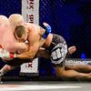 2014.11.22 - Belchatow, Hala Energia , MMA Fighters Arena 10  N/Z Adam Wieczorek , Andrzej Deberny  Fot. Mariusz Palczynski / MPAimages.com