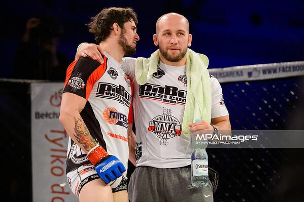 2014.11.22 - Belchatow, Hala Energia , MMA Fighters Arena 10  N/Z Krzysztof Adaszak  Fot. Mariusz Palczynski / MPAimages.com