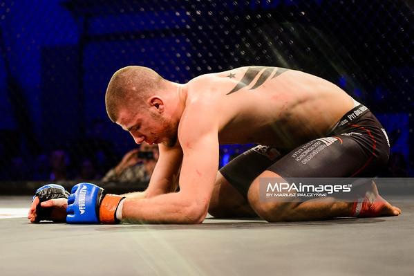 2014.11.22 - Belchatow, Hala Energia , MMA Fighters Arena 10  N/Z Pawel Kielek  Fot. Mariusz Palczynski / MPAimages.com