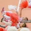 06.12.2014 - Belchatow , Hala Energia , siatkowka , PlusLiga , PGE Skra Belchatow (zolte) - MKS Banimex Bedzin (granatowe)  N/Z Cheerleaders Belchatow  Fot. Mariusz Palczynski / MPAimages.com