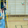 27.12.2014 - Katowice , Hala Kolejarz , siatkowka , mecz sparingowy , KU AZS US Katowice (zielono-biale) - MCKiS Jaworzno (niebieskie)  Fot. Karol Bartnik / MPAimages.com