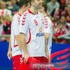 30.12.2014 - Katowice , Spodek , pilka reczna , Christmas Cup , Polska (biale) - Wegry (zielone)  N/Z Andrzej Rojewski Fot. Karol Bartnik / MPAimages.com
