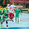 30.12.2014 - Katowice , Spodek , pilka reczna , Christmas Cup , Polska (biale) - Wegry (zielone)  N/Z Michal Daszek Fot. Karol Bartnik / MPAimages.com