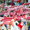 30.12.2014 - Katowice , Spodek , pilka reczna , Christmas Cup , Polska (biale) - Wegry (zielone)  N/Z Kibice reprezentacji Polski Fot. Karol Bartnik / MPAimages.com