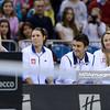 07.02.2015 - Krakow , Krakow Arena , Fed Cup by BNP Paribas , Polska – Rosja , Poland - Russia  N/Z Kadra Polski   Fot. Mariusz Palczynski / MPAimages.com