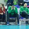 03.03.2015 - Kielce , Hala Legionow , siatkowka , Plus Liga , Effector Kielce (biale) - AZS Czestochowa (zielone)  N/Z Michal Bakiewicz Fot. Karol Bartnik / MPAimages.com