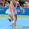 07.04.2015 - Katowice , Spodek , Katowice Open , Agnieszka Radwanska (POL) - Yanina Wickmayer (BEL)  N/Z Yanina Wickmayer  Fot. Mariusz Palczynski / MPAimages.com