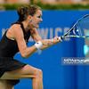 07.04.2015 - Katowice , Spodek , Katowice Open , Agnieszka Radwanska (POL) - Yanina Wickmayer (BEL)  N/Z Agnieszka Radwanska  Fot. Mariusz Palczynski / MPAimages.com