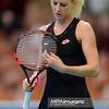 07.04.2015 - Katowice , Spodek , Katowice Open , Tennis Tournament , Urszula Radwanska (POL) - Elizaveta Kulichkova (RUS)  N/Z Urszula Radwanska  Fot. Mariusz Palczynski / MPAimages.com