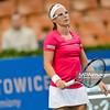 09.04.2015 - Katowice , Spodek , Katowice Open , Kirsten Flipkens (BEL) - Monica Niculescu (ROU)  N/Z Kirsten Flipkens  Fot. Mariusz Palczynski / MPAimages.com