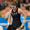 10.04.2015 - Katowice , Spodek , Katowice Open , Agnieszka Radwanska (POL) - Klara Koukalova (CZE)  N/Z Agnieszka Radwanska  Fot. Mariusz Palczynski / MPAimages.com
