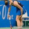 10.04.2015 - Katowice , Spodek , Katowice Open , Anna Schmiedlova (SVK) - Alize Cornet (FRA)  N/Z Alize Cornet kontuzja bol placz  Fot. Mariusz Palczynski / MPAimages.com