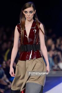 17.04.2015 - Lodz , Fashionphilosophy Fashion Week Poland 2015 , 12 edycja , Aleja Projektantow , Designers Avenue  N/Z Jacob Birge Vision  Fot. Mariusz Palczynski / MPAimages.com